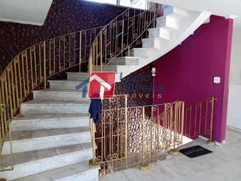 15 escada ao 3 pi - Casa Rua Professor Plínio Bastos,Olaria, Rio de Janeiro, RJ À Venda, 4 Quartos, 394m² - VPCA40064 - 19