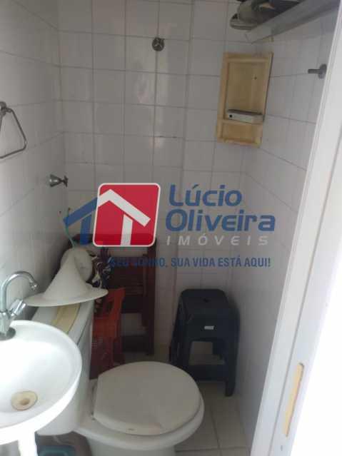15-Banheiro serviço - Apartamento à venda Rua Leopoldina Rego,Olaria, Rio de Janeiro - R$ 250.000 - VPAP21444 - 16