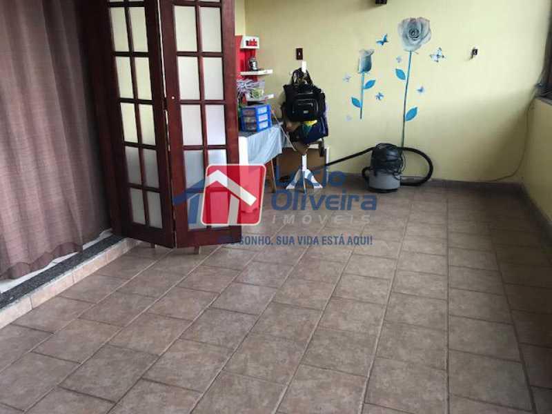 15-Varanda Quarto - Casa à venda Rua Mário Carpenter,Pilares, Rio de Janeiro - R$ 765.000 - VPCA30200 - 17