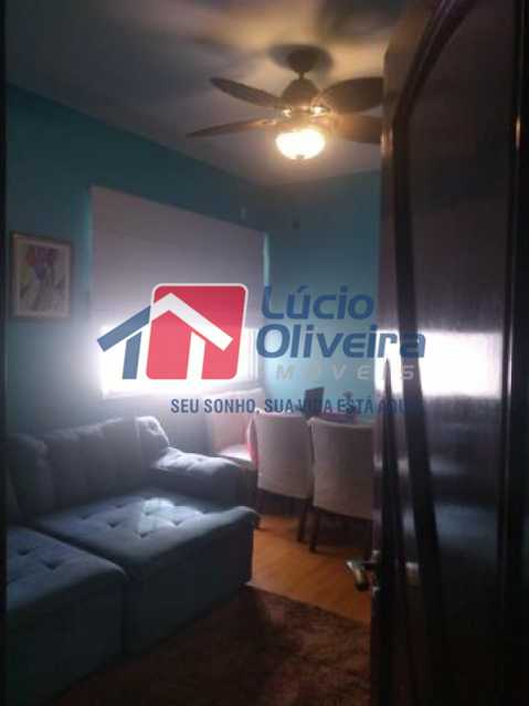 02- Sala - Apartamento à venda Rua Mário Barbedo,Vila Valqueire, Rio de Janeiro - R$ 230.000 - VPAP21447 - 3