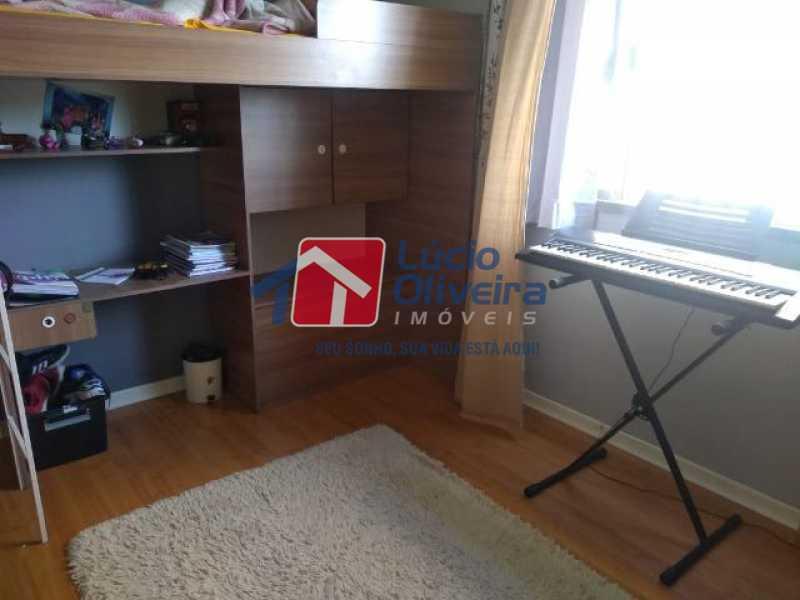 03 - Quarto S. - Apartamento à venda Rua Mário Barbedo,Vila Valqueire, Rio de Janeiro - R$ 230.000 - VPAP21447 - 4