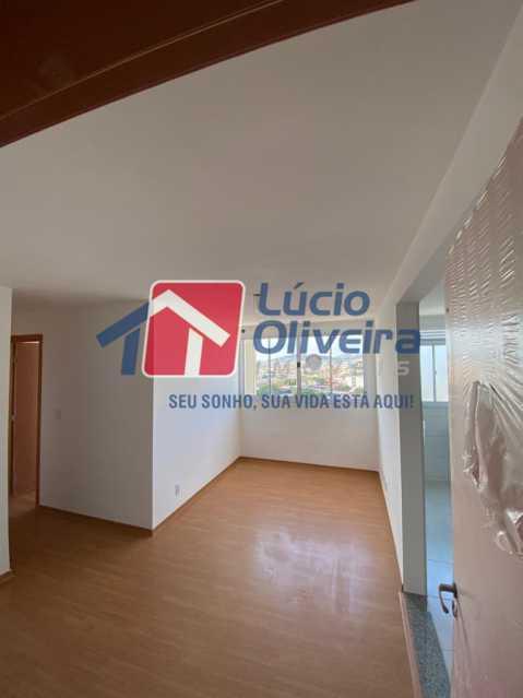 1- Sala ambiente - Apartamento à venda Estrada do Colégio,Colégio, Rio de Janeiro - R$ 240.000 - VPAP21449 - 1