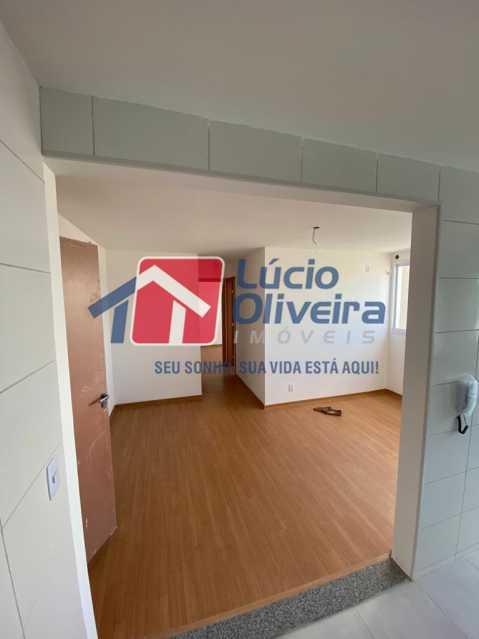 7-Cozinha americana para sala - Apartamento à venda Estrada do Colégio,Colégio, Rio de Janeiro - R$ 240.000 - VPAP21449 - 8