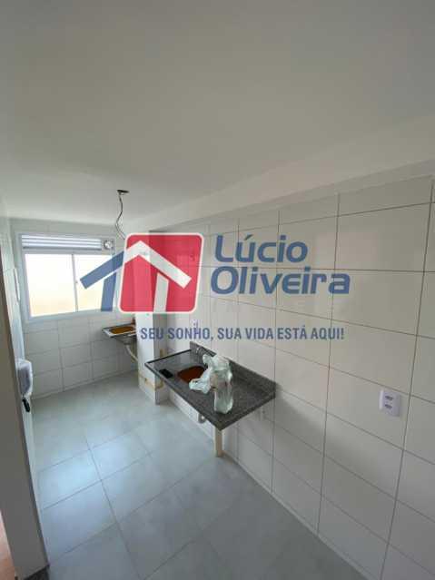 8-Cozinha e area - Apartamento à venda Estrada do Colégio,Colégio, Rio de Janeiro - R$ 240.000 - VPAP21449 - 9