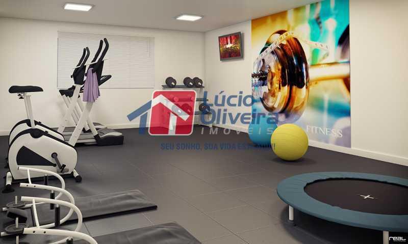 12-Fitness - Apartamento à venda Estrada do Colégio,Colégio, Rio de Janeiro - R$ 240.000 - VPAP21449 - 13