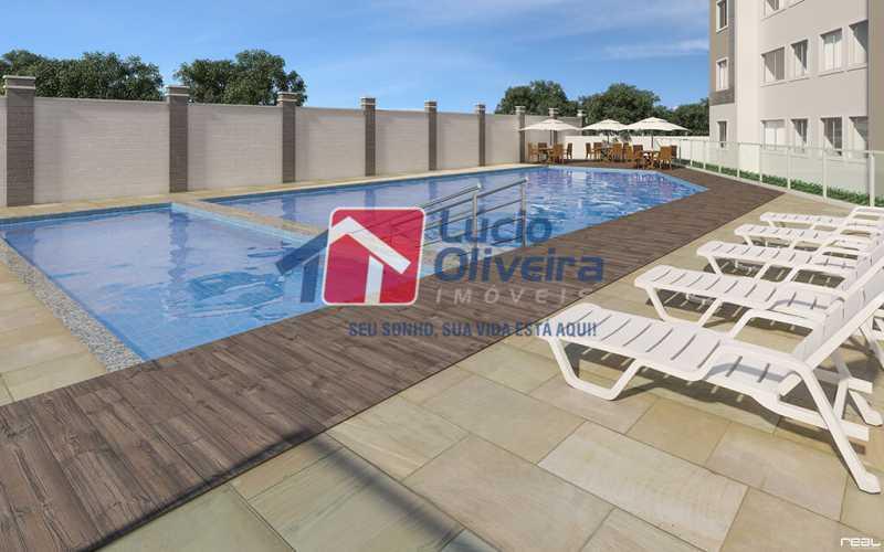 13-piscina - Apartamento à venda Estrada do Colégio,Colégio, Rio de Janeiro - R$ 240.000 - VPAP21449 - 14