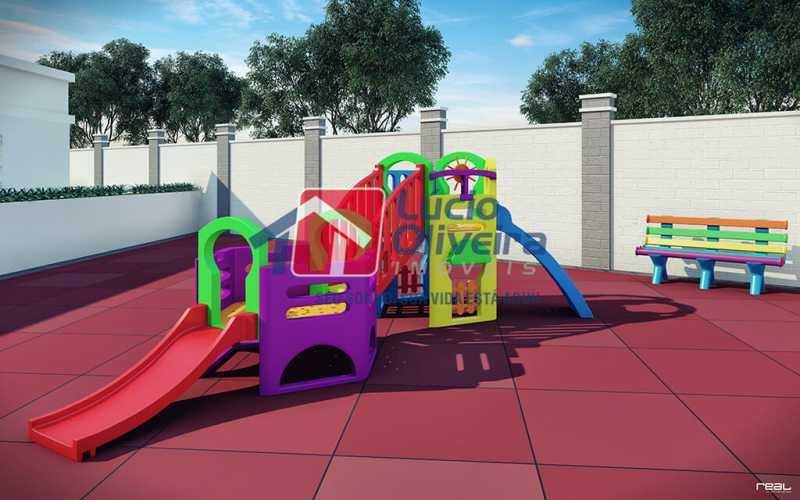 14-playground - Apartamento à venda Estrada do Colégio,Colégio, Rio de Janeiro - R$ 240.000 - VPAP21449 - 15