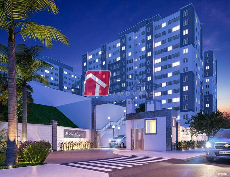 20-fachada-noturna - Apartamento à venda Estrada do Colégio,Colégio, Rio de Janeiro - R$ 240.000 - VPAP21449 - 21