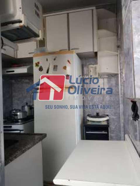 10-Cozinha armarios - Apartamento à venda Rua São João Gualberto,Vila da Penha, Rio de Janeiro - R$ 325.000 - VPAP21453 - 11