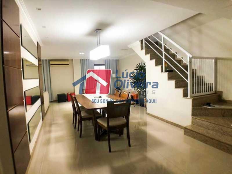 03 - Sala de Jantar - Cobertura à venda Rua Professor Taciel Cylleno,Recreio dos Bandeirantes, Rio de Janeiro - R$ 1.690.000 - VPCO30028 - 4