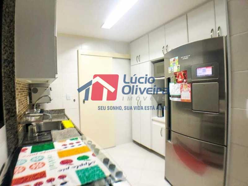 07 - Cozinha - Cobertura à venda Rua Professor Taciel Cylleno,Recreio dos Bandeirantes, Rio de Janeiro - R$ 1.690.000 - VPCO30028 - 8