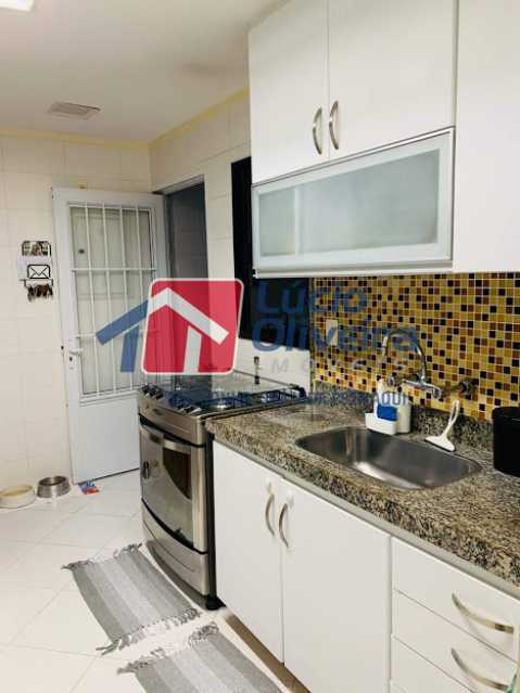 08 - Cozinha - Cobertura à venda Rua Professor Taciel Cylleno,Recreio dos Bandeirantes, Rio de Janeiro - R$ 1.690.000 - VPCO30028 - 9