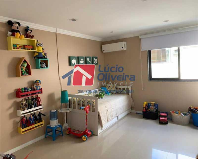 11 - QuartoS. - Cobertura à venda Rua Professor Taciel Cylleno,Recreio dos Bandeirantes, Rio de Janeiro - R$ 1.690.000 - VPCO30028 - 12