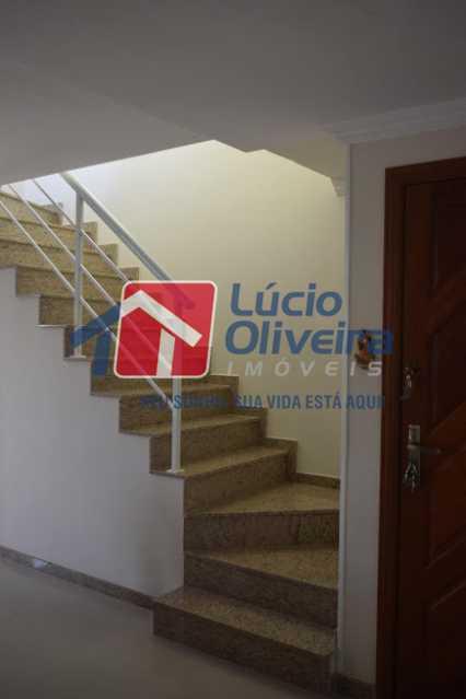 19 - Escada acesso 2pav - Cobertura à venda Rua Professor Taciel Cylleno,Recreio dos Bandeirantes, Rio de Janeiro - R$ 1.690.000 - VPCO30028 - 20