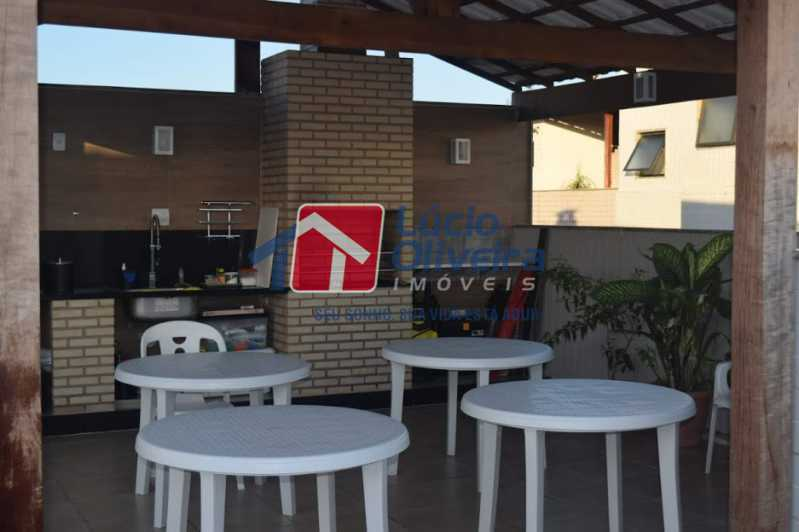 21- Churrasqueira - Cobertura à venda Rua Professor Taciel Cylleno,Recreio dos Bandeirantes, Rio de Janeiro - R$ 1.690.000 - VPCO30028 - 22