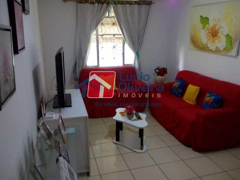 1- Sala ambiente - Apartamento à venda Avenida Teixeira de Castro,Ramos, Rio de Janeiro - R$ 205.000 - VPAP21454 - 1