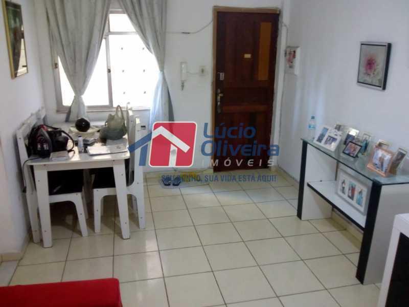 3-Sala ambiente 1 - Apartamento à venda Avenida Teixeira de Castro,Ramos, Rio de Janeiro - R$ 205.000 - VPAP21454 - 4