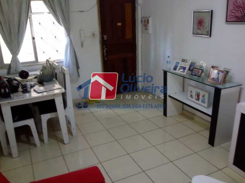 4-Sala ambiente - Apartamento à venda Avenida Teixeira de Castro,Ramos, Rio de Janeiro - R$ 205.000 - VPAP21454 - 5