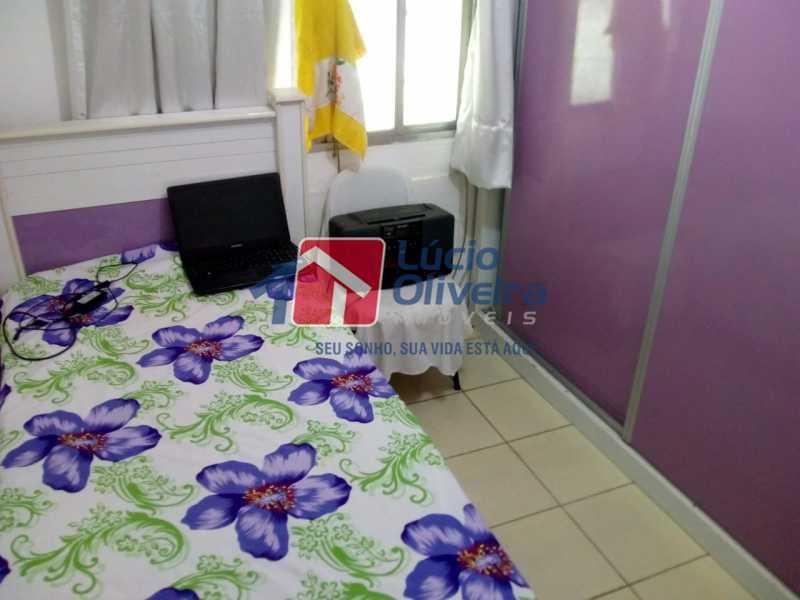 5-Quarto Casal 2 - Apartamento à venda Avenida Teixeira de Castro,Ramos, Rio de Janeiro - R$ 205.000 - VPAP21454 - 6