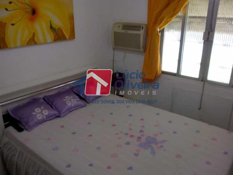 7-Quarto Casal - Apartamento à venda Avenida Teixeira de Castro,Ramos, Rio de Janeiro - R$ 205.000 - VPAP21454 - 8