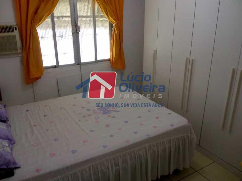 8-Quarto casal3 - Apartamento à venda Avenida Teixeira de Castro,Ramos, Rio de Janeiro - R$ 205.000 - VPAP21454 - 9