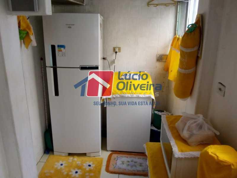 11-Cozinha e area serviço - Apartamento à venda Avenida Teixeira de Castro,Ramos, Rio de Janeiro - R$ 205.000 - VPAP21454 - 12