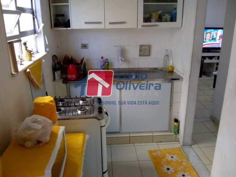 12-Cozinha - Apartamento à venda Avenida Teixeira de Castro,Ramos, Rio de Janeiro - R$ 205.000 - VPAP21454 - 13