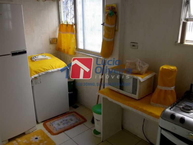 13-Area Serviço - Apartamento à venda Avenida Teixeira de Castro,Ramos, Rio de Janeiro - R$ 205.000 - VPAP21454 - 14
