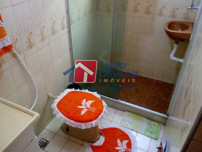 15-Banheiro Social - Apartamento à venda Avenida Teixeira de Castro,Ramos, Rio de Janeiro - R$ 205.000 - VPAP21454 - 16