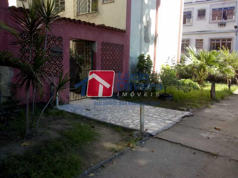 16-Entrada Predio - Apartamento à venda Avenida Teixeira de Castro,Ramos, Rio de Janeiro - R$ 205.000 - VPAP21454 - 17