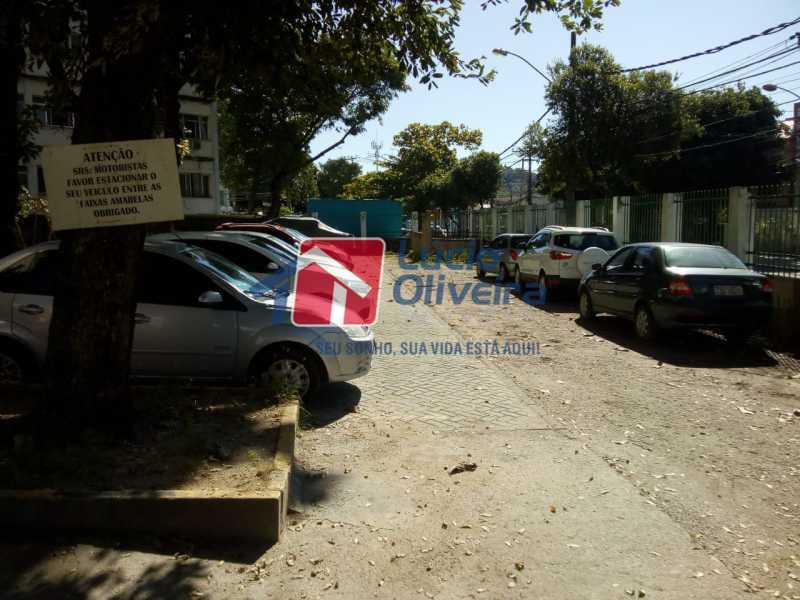 17-Garagem parqueamento - Apartamento à venda Avenida Teixeira de Castro,Ramos, Rio de Janeiro - R$ 205.000 - VPAP21454 - 18