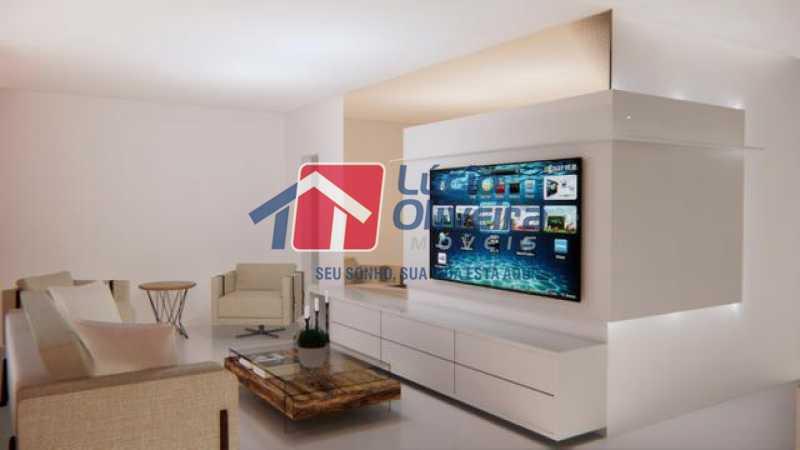 01 - Sala - Casa à venda Rua Lopes Ferraz,São Cristóvão, Rio de Janeiro - R$ 829.500 - VPCA30202 - 1