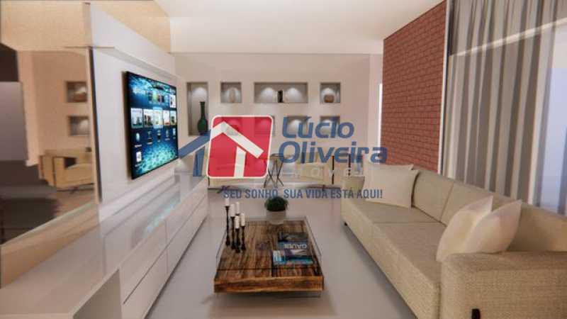 02 - Sala - Casa à venda Rua Lopes Ferraz,São Cristóvão, Rio de Janeiro - R$ 829.500 - VPCA30202 - 3