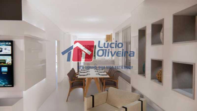 04- Salas integradas - Casa à venda Rua Lopes Ferraz,São Cristóvão, Rio de Janeiro - R$ 829.500 - VPCA30202 - 5