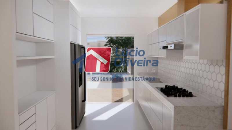 06- Cozinha - Casa à venda Rua Lopes Ferraz,São Cristóvão, Rio de Janeiro - R$ 829.500 - VPCA30202 - 7
