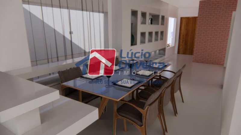 07- Sala de Jantar - Casa à venda Rua Lopes Ferraz,São Cristóvão, Rio de Janeiro - R$ 829.500 - VPCA30202 - 8