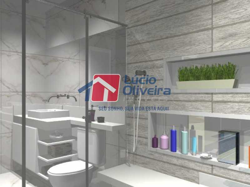 10- Suite - Casa à venda Rua Lopes Ferraz,São Cristóvão, Rio de Janeiro - R$ 829.500 - VPCA30202 - 11