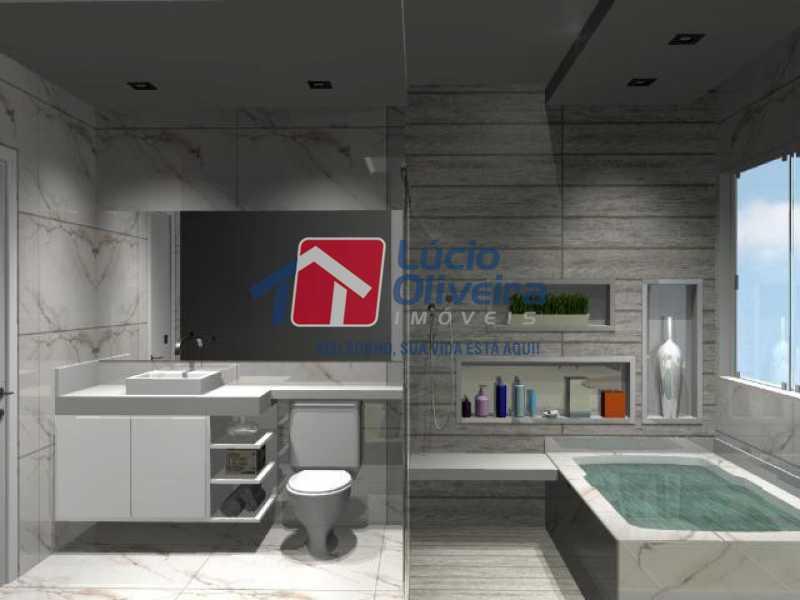 12- Suite - Casa à venda Rua Lopes Ferraz,São Cristóvão, Rio de Janeiro - R$ 829.500 - VPCA30202 - 13