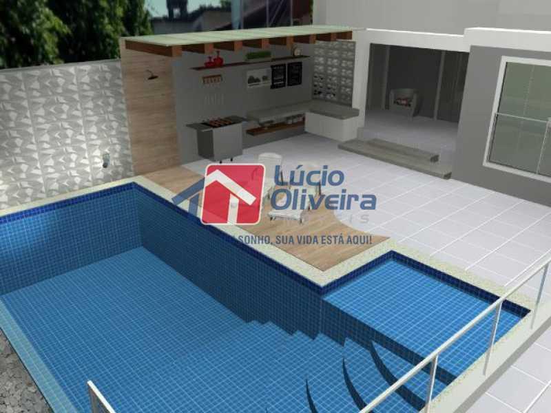 14- Piscina - Casa à venda Rua Lopes Ferraz,São Cristóvão, Rio de Janeiro - R$ 829.500 - VPCA30202 - 15