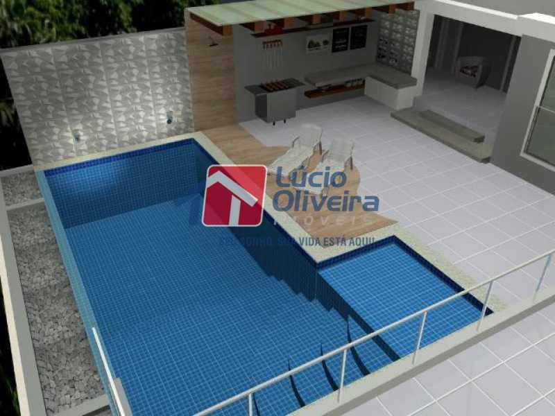 15- Piscina - Casa à venda Rua Lopes Ferraz,São Cristóvão, Rio de Janeiro - R$ 829.500 - VPCA30202 - 16