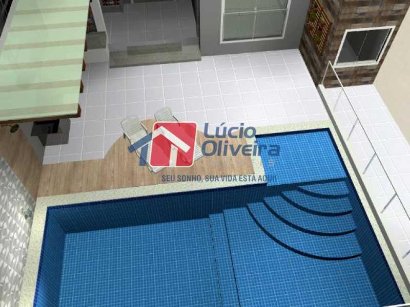 16- Piscina - Casa à venda Rua Lopes Ferraz,São Cristóvão, Rio de Janeiro - R$ 829.500 - VPCA30202 - 17