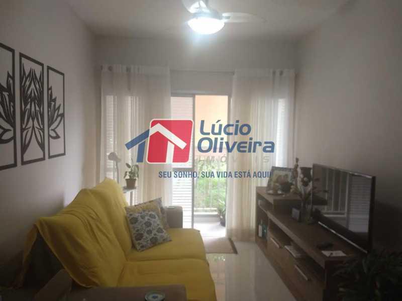 01- Sala - Apartamento à venda Travessa Cerqueira Lima,Riachuelo, Rio de Janeiro - R$ 310.000 - VPAP21455 - 1