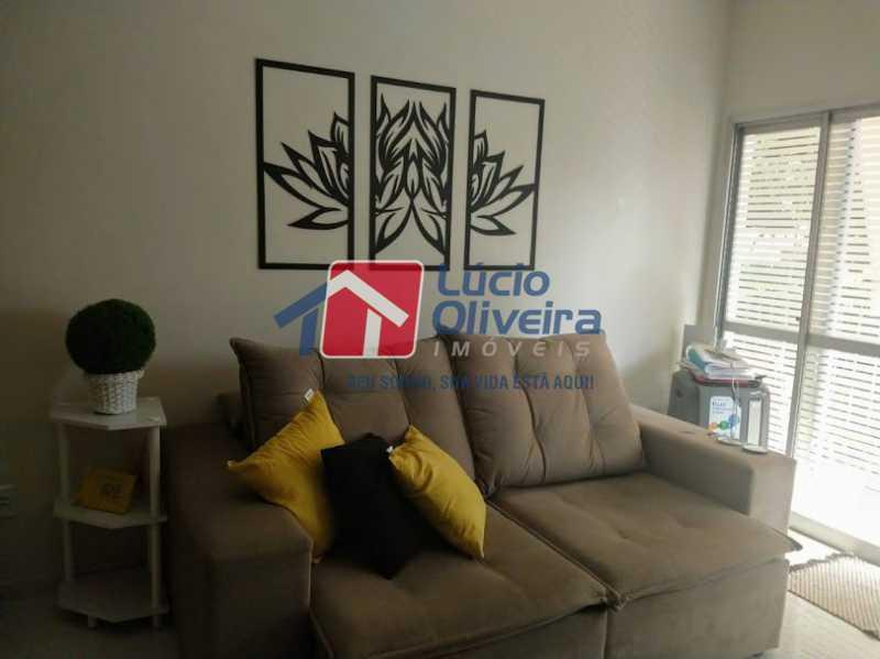 02- Sala - Apartamento à venda Travessa Cerqueira Lima,Riachuelo, Rio de Janeiro - R$ 310.000 - VPAP21455 - 3