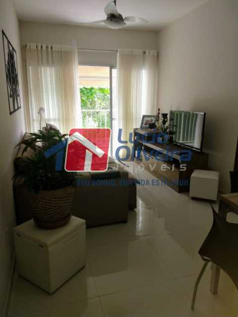 03- Sala - Apartamento à venda Travessa Cerqueira Lima,Riachuelo, Rio de Janeiro - R$ 310.000 - VPAP21455 - 4