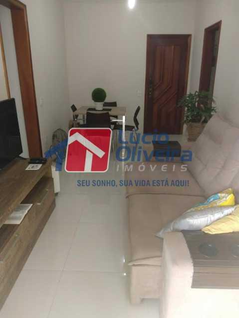 04- Sala - Apartamento à venda Travessa Cerqueira Lima,Riachuelo, Rio de Janeiro - R$ 310.000 - VPAP21455 - 5