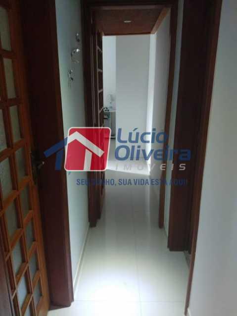 05- Circulação - Apartamento à venda Travessa Cerqueira Lima,Riachuelo, Rio de Janeiro - R$ 310.000 - VPAP21455 - 6