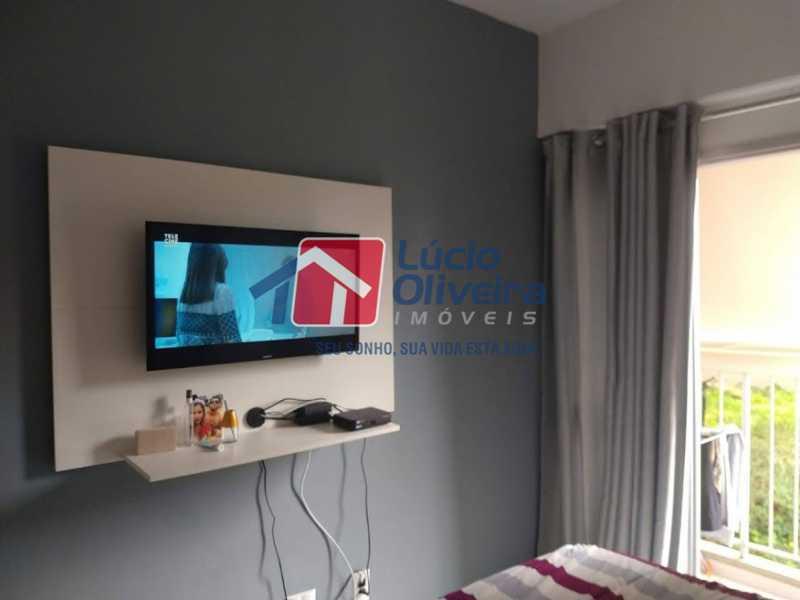 06- Quarto C. - Apartamento à venda Travessa Cerqueira Lima,Riachuelo, Rio de Janeiro - R$ 310.000 - VPAP21455 - 7