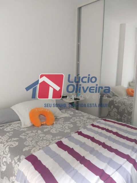 08- Quarto C. - Apartamento à venda Travessa Cerqueira Lima,Riachuelo, Rio de Janeiro - R$ 310.000 - VPAP21455 - 9