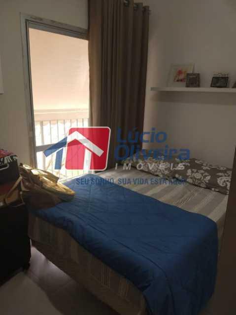 10- Quarto S. - Apartamento à venda Travessa Cerqueira Lima,Riachuelo, Rio de Janeiro - R$ 310.000 - VPAP21455 - 11