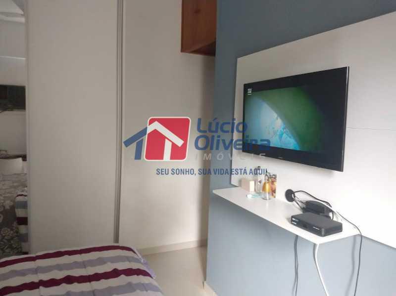 12- Quarto S. - Apartamento à venda Travessa Cerqueira Lima,Riachuelo, Rio de Janeiro - R$ 310.000 - VPAP21455 - 13